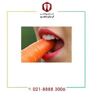 انتخاب غذا بعد از لمینت دندان چه محدودیت هایی دارد؟